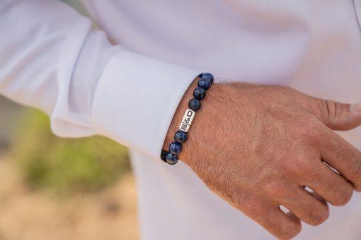 Stone Fundamentals Lapis Lazuli 10mm Wristshot