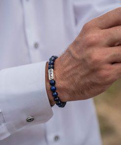 Stones Fundamental Lapis Lazuli 8mm Wristshot