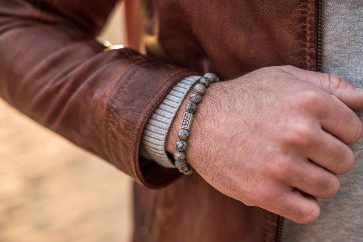 Stones Marble Grey Wristshot