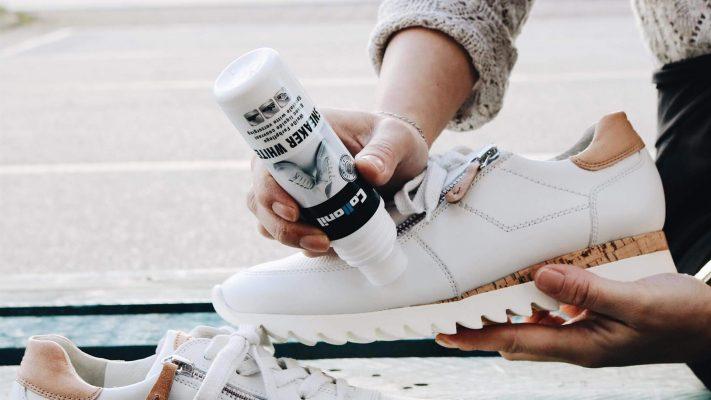 Witte sneakers schoonmaken verzorgen shoeshiners sneaker cleaning