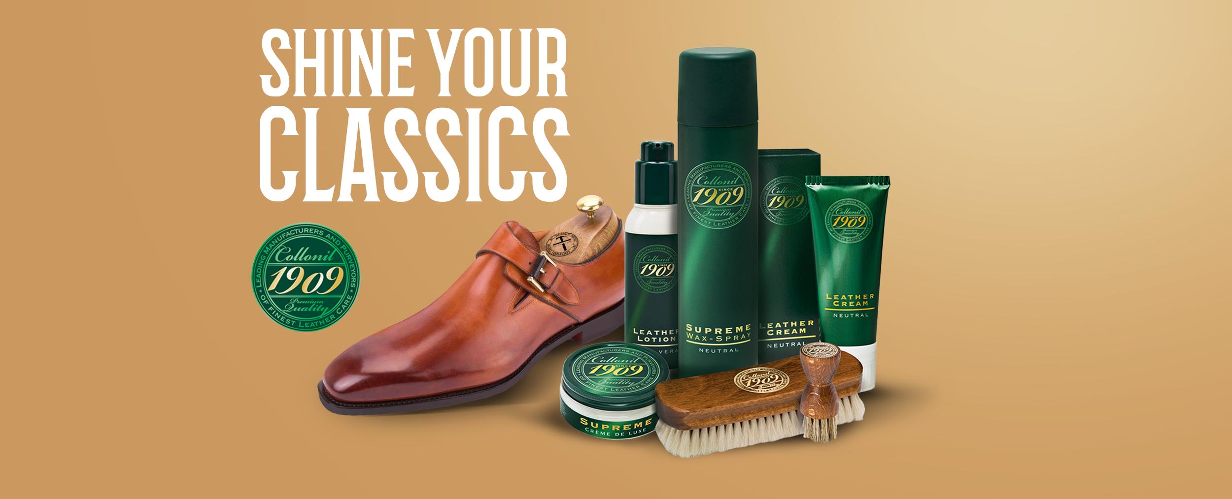 Schoenmaker klassieke maat schoenen poetsen shoeshiners
