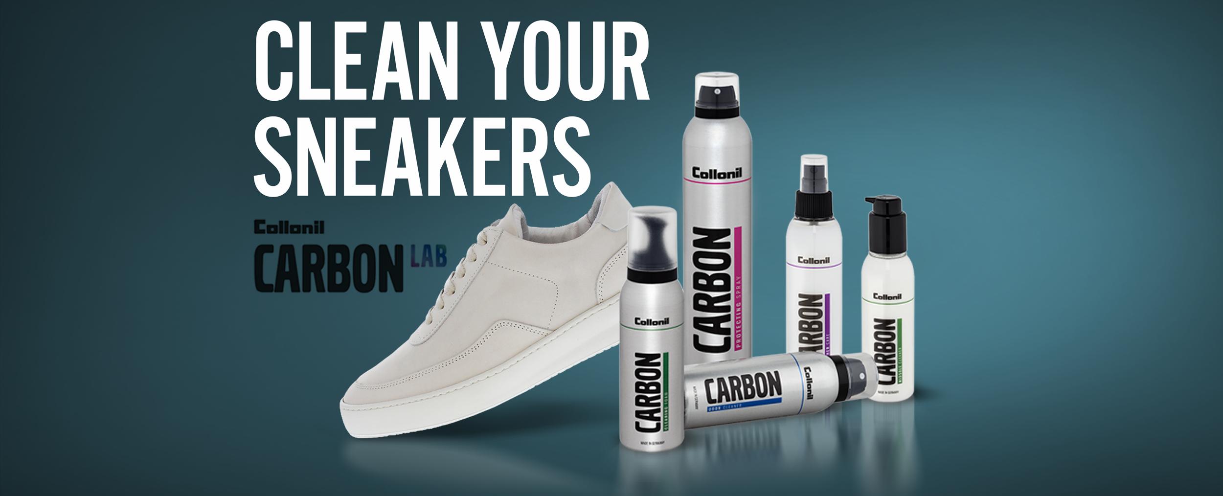 Sneakers schoonmaken verzorgen shoeshiners online schoenmaker clean